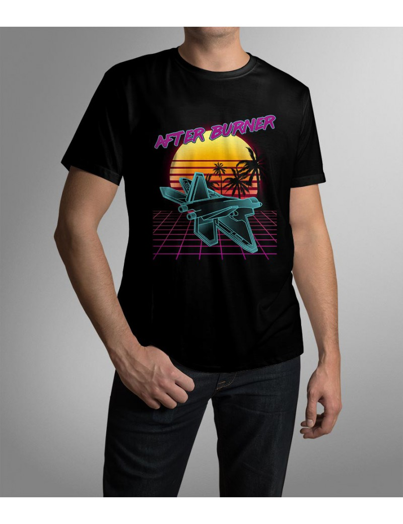 After Burner synthwave retro T-Shirts