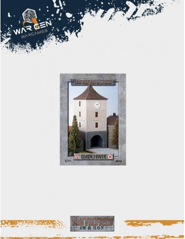 Flames of War - Clock Tower WWII 15mm...
