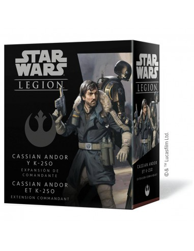 Star Wars: Legion Cassian Andor and...