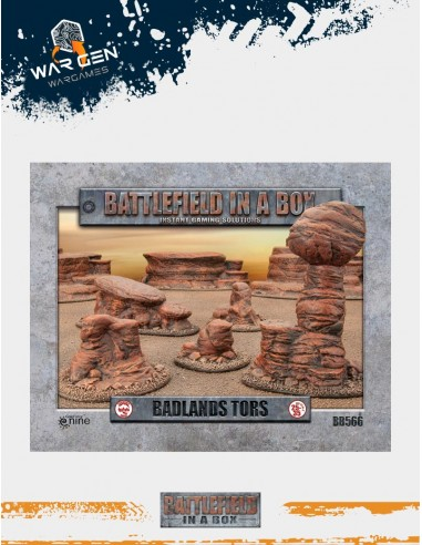 Battlefield in a box - Badlands Tors...