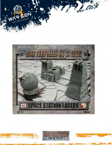 Battlefield in a box - Space Station...
