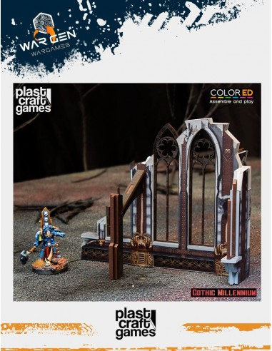 Plast Craft Games - Ruined side wall