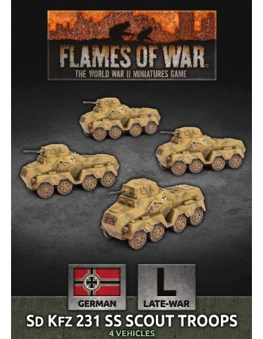 Flames of War: Sd Kfz 231 SS Scout Troop