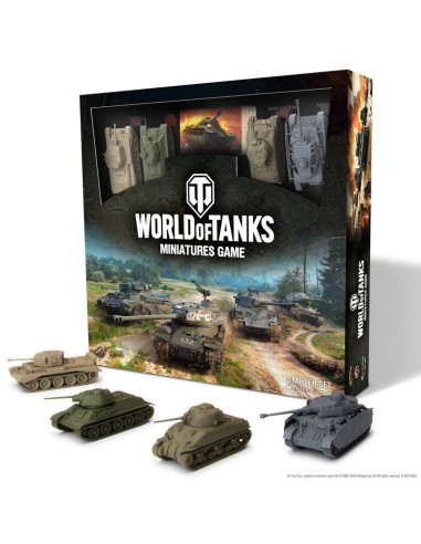 World of Tanks juego de miniaturas