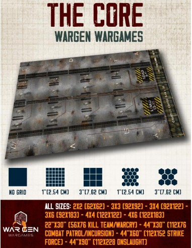 The Core - Wargames Gaming Mat