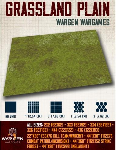 Grassland Plain - Wargames Gaming Mat